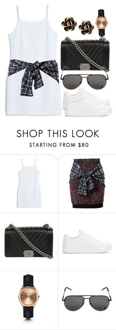 """""""Style by me"""" by nnueyrizer ❤ liked on Polyvore featuring MANGO, 3.1 Phillip Lim, Chanel, Prada, Kennett, Yves Saint Laurent and Chantecler"""