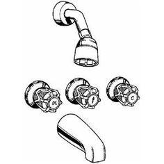 Three Handle Showers