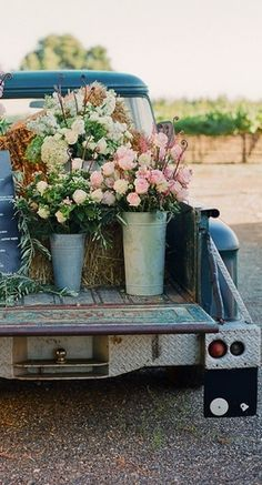 flowers and vintage# happy together