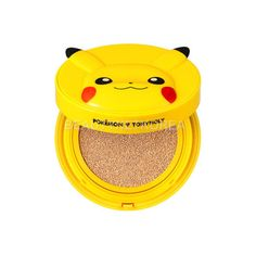 Pokemon Pikachu BB Cushion ❤ liked on Polyvore featuring beauty products, makeup and filler
