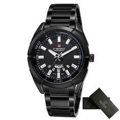 NAVIFORCE Luxury brand Quartz Watches Men Full Steel Sports watch reloj hombre Army Military wristwatch relogio masculino 2017