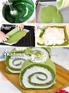 Spinach Roll Pie Recipe, How To . - Recipe for Woman-Ispanaklı Rulo Pasta Tarifi, Nasıl Yapılır? Vegan Recipes Easy, Pie Recipes, Spinach Rolls, Recipe Sites, Recipe Recipe, Food Cakes, Food And Drink, Sweets, Stuffed Peppers