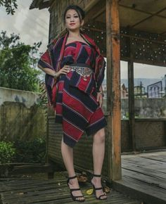 Mizoram lady in traditional dress Fashion Models, Fashion Outfits, Culture, Indian Attire, Western Outfits, India Fashion, Simple Dresses, Modern Fashion, Traditional Dresses