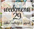 Lekker, makkelijk en gezond weekmenu - week 29 met een heerlijke, snelle salade, Griekse wraps en zure verfrissende ijsjes met citroen. (Bekijk weekmenu via BRON)