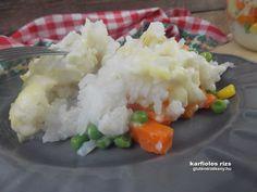 Karfiolos rizs Gluténmentes ebéd ötletek. Karfiolos rizs – glutén- és tejmentes recept. Önmagában vagy egy egy szelet roston sült csirkemellel is kitűnő választás!
