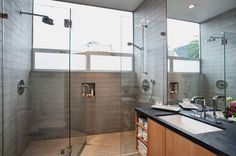 I like the tile in the shower.