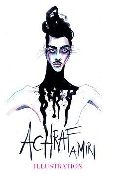 ACHRAF AMIRI ILLUSTRATION