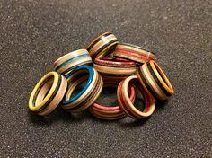 Skate rings.