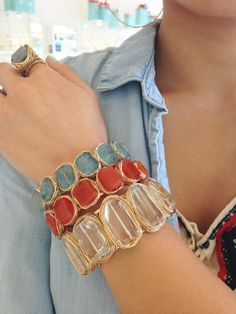 Judith Bright Gold Bracelets, Bangles, Free Spirit, Artisan Jewelry, Fasion, Diy Jewelry, Color Pop, Boho Fashion, Cuffs