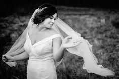 Elegant Bride with Veil