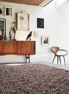 Brink & Campman Handgewebter Innenteppich Marble in Beige/Grau Dark Carpet, Modern Carpet, Marble Texture, Carpet Styles, Luxury Homes Interior, Texture Design, Carpet Runner, Home Depot, Wool Rug