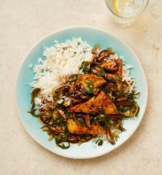 Meera Sodha's vegan recipe for Shaoxing and soy braised tofu with pak choi | Vegan food and drink | The Guardian Veg Recipes, Organic Recipes, Asian Recipes, Dinner Recipes, Healthy Recipes, Ethnic Recipes, Healthy Foods, Dinner Ideas