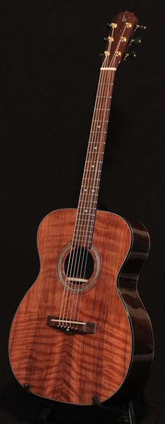 Custom Indian Rosewood OM Guitar, Lichty Guitars