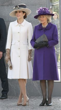 Crown Princess Mary of Denmark and the Duchess of Cornwall