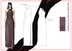 madalina buzas on Behance Fashion Portfolio Layout, Fashion Design Sketchbook, Fashion Sketches, Portfolio Design, Fashion Sketch Template, Sketch Design, Fashion Flats, Modest Outfits, Clothing Patterns
