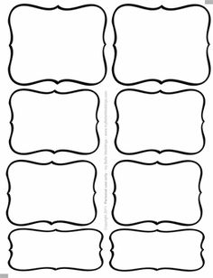 1000 images about templates on pinterest label templates candy labels and candy buffet. Black Bedroom Furniture Sets. Home Design Ideas