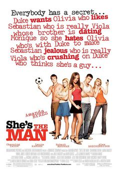 She's The Man (2006). Repinned from Kaye Tan.