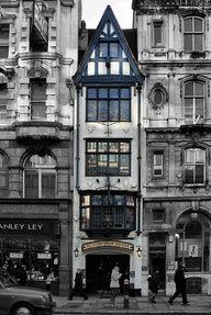Ye Olde Cock Tavern, Fleet St, London