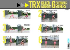 Boost your Metabolism, with this workout... and the video : Fitness Workout - Killer TRX Training