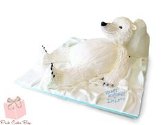 Polar Bear Birthday Cake by Pink Cake Box