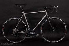 This is Pavel's Seven Axiom SL with Ultegra 6700, Thomson parts, Shimano RS20 wheels. All in all, a very smooth riding, practical bicycle that can do it all.