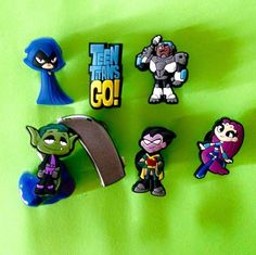 Moni's Blings Hearing Aid CI Accessories Charms for Deaf Teen Titans Lot | eBay