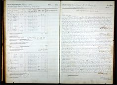 A page from the log book of the US Navy steamer Bear, June 22, 1884.