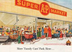 .....A Supermarkets...Oh do I really remember A is where my mom worked when I was growing up..I stayed with my aunt and Grandparents while she worked and we would sometimes go to the store and wait for her to get off...so many Good memories!!!!