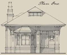 Bungalow Plans Early 1900s