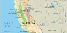 Map of California - #Roadtrip Planner #roadtrip #california