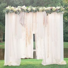 Your magical day starts at this dreamy altar. | 11 DIYs For A Dreamy Wedding