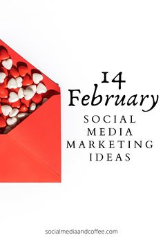 Are you looking for some creative February social media marketing ideas? Here are 14 creative ways to market and make a connection with your customers. Social media marketing | February marketing | online business | Valentine's Day | blog | blogging | Facebook marketing | Instagram marketing | marketing ideas | social media tips | business tips | small business marketing | entrepreneur | #onlinebusiness #socialmedia #Facebook #Instagram #marketing #blog #Blogging #February #tips… Social Media Quotes, Social Media Pages, Social Media Tips, Facebook Marketing, Social Media Marketing, Business Marketing, Online Business, Business Tips, Marketing Ideas