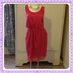 FLASH SALE Beautiful fuchsia Banana Republic Dress Lovely, for any occasion, worn one time to a Communion Banana Republic Dresses