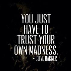 Clive Barker has a high Enthusiasm value. #VoiceValues #Brand Voice | commentary via The Voice Bureau at AbbyKerr.com