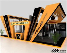 Logo could inspire a pop up ticket collection point? Exhibition Stall, Exhibition Booth Design, Exhibition Display, Kiosk Design, Display Design, Exibition Design, Expo Stand, Concept Models Architecture, Pavilion Design