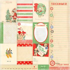 Countdown Paper - Countdown To Christmas - Melissa Frances