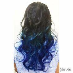 WEBSTA @ stylist_yui - マーメイドカラー.#アンククロス #ankhcross #ヘアカラー #カット#サロン#サロンモデル #メッシュ#ヘア#シールエクステ #美容師ママ#サロンモデル#外国人風カラー#コテ巻き#cut#haircolor#hairstyle#ママ美容師#followme#l4l#lforllike#autumu#女性美容師#イルミナカラー#ママ美容師yui#アッシュ#グラッシュ#ワーママ#ミルクティーベージュ#マニパニ#ブルー#マーメイドカラー