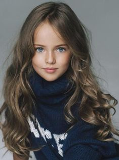 wow. What a lovely little girl! The most beautiful girl in the world - Kristina Pimenova - Women Daily Magazine