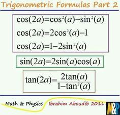 Thing 1, Math Concepts, Formulas