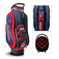 Team Golf Cleveland Indians Medalist 14-Way Cart Golf Bag - Golf Equipment, Collegiate Golf Products at Academy Sports