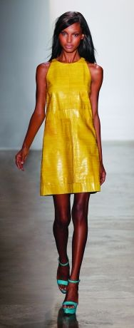 Peter Som.....love yellow and turquoise together!