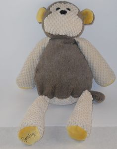 """SOLD! Scentsy Buddy Monkey Mollie Retired Plush Stuffed Tan Brown No Scent Pack 16"""" #2 #Scentsy"""