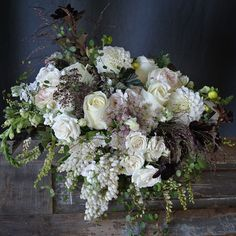 Neutral summer blooms delivery design from Sullivan Owen. Call 215-964-9790 to order for yourself or for a friend!