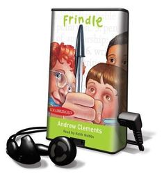 Frindle by Andrew Clements When he decides to turn his fifth grade teacher's love of the dictionary around on her, clever Nick Allen invents a new word and begins a chain of events that quickly moves beyond his control.