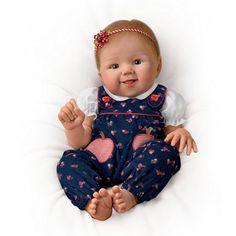 'Apple Dumpling' Poseable Baby Doll By Ashton Drake