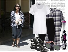 """06 Celebrity Style: Demi Lovato"" by sophie-is-a-dreamer on Polyvore"
