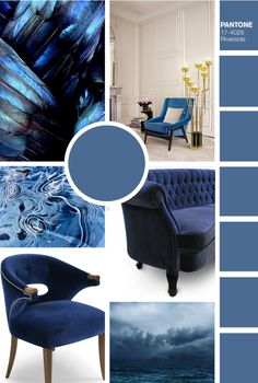 To celebrate the beginning of Fall, we created a few mood boards with the trendiest colors according to Pantone to inspire your next home decor project!