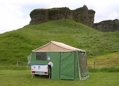 3DOG camping – The compact Trailer Tent 'ScoutDog'