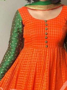 Kurti neck designs - Simple yet stylish neck designs for kurtis ArtsyCraftsyDad Salwar Neck Designs, Kurta Neck Design, Kurta Designs Women, Dress Neck Designs, Saree Blouse Designs, Chudidhar Neck Designs, Neck Design For Kurtis, Simple Kurti Designs, Chudidhar Designs