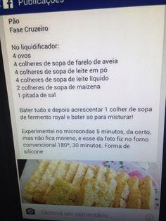 Pão Fase Cruzeiro da dieta dr. Dukan - SEM GLÚTEN